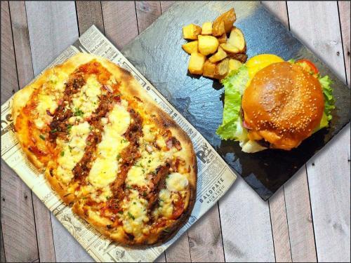 Coca-Pizza y Burguer